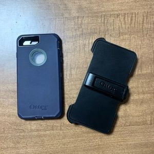 OtterBox Defender Case with Clip, iPhone 7/8 Plus